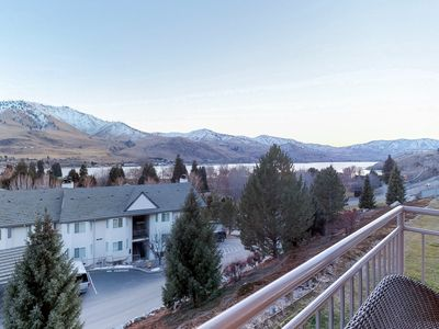 Photo for NEW LISTING! Lake view condo w/ shared seasonal pool/hot tub & near lake access