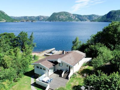 Photo for Vacation home Åptafjorden (SOW684) in Farsund - 6 persons, 3 bedrooms