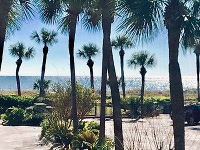 Ocean View from our private balcony taken 2019
