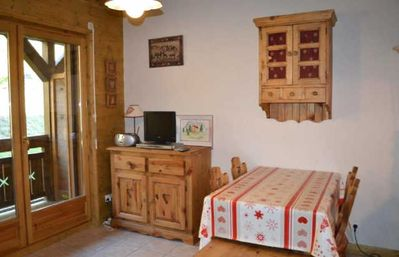 Photo for L'HERMINE - 2 rooms cabin - Capacity 4 people