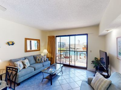Photo for 1st Floor Lovely Condo, Splash pad w/ multiple pools & hot tub