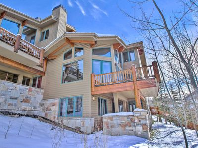 Photo for Amazing Ski in Ski out Bedroom Condo with Private Hot Tub!!