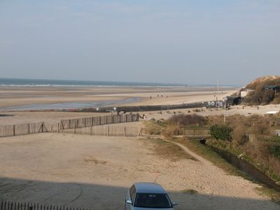 Photo for Magnificent apartment view and direct access to the sea in Wissant