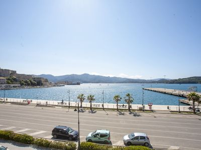 Photo for Lungomare apartment in Portoferraio on the city side, neat to the city center, the beaches and the p