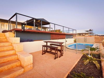Photo for Swimming Pool and Boat Jetty. Beautifully equipped family home.