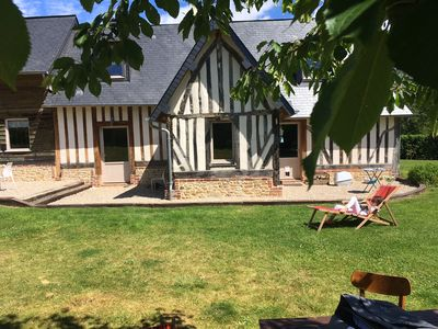 Photo for 4BR House Vacation Rental in Tourville-en-Auge, Normandie