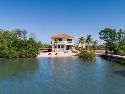 Photo for High end home on Private Island with 2 private pools - 2 Min. from Placencia