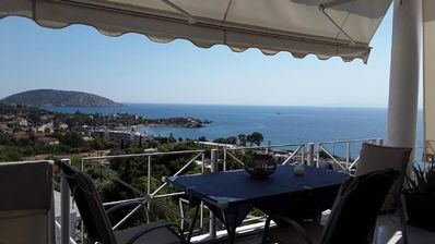 Photo for Holiday apartment Saronida for 2 - 4 persons with 1 bedroom - Penthouse holiday apartment