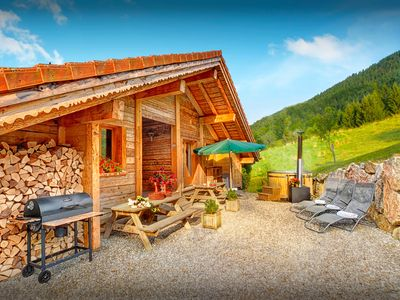 Photo for Sunny balcony and Nordic bath at this stylish Alpine home - OVO Network