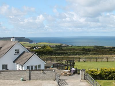 Photo for Modern premier house, magnificent sea views, close to the Giants Causeway & golf