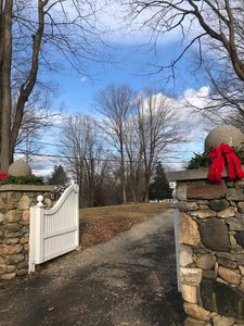 The Carriage House has its own private gated entrance and access driveway