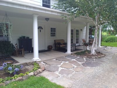 Photo for Beautiful country setting, nestled between rolling hills, not a neighbor in site