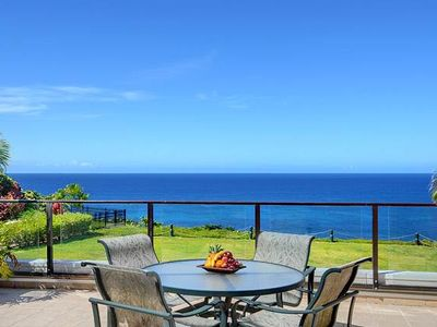 Photo for Beautiful Oceanfront, North Shore Condo-Awesome Ocean, Mountain & Coastal Views!