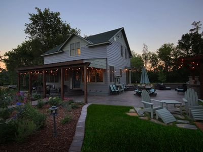 Photo for Town and Country Trailside Farmhouse, Leech Lake