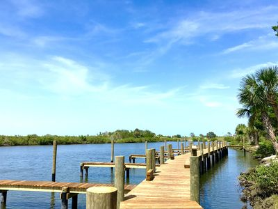 Photo for WINTER 2020 AVAILABLE! Kate's Places-2B/2B Villas w/dock near Beach & downtown!