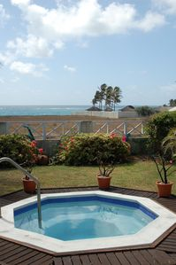 Photo for Holiday Villa Near Beach At Bottom Bay With Sea Views and Jacuzzi