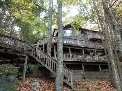 Photo for Lake Wallenpaupack Lakefront 4 bedroom home with AWESOME Views