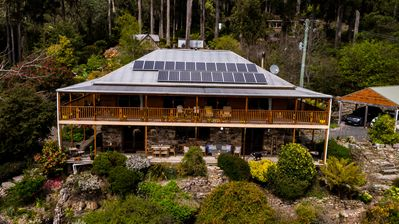 Photo for The Lodge, ECO SPA luxury B&B accommodation nestled under the mountain forest