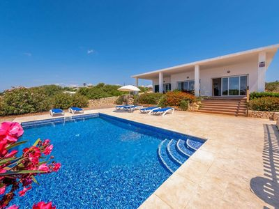 Photo for Stylish sea view villa for 6 with free Wi-Fi and A/C plus private pool