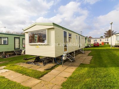 Photo for 8 berth dog friendly caravan for hire at California cliffs in Norfolk ref 50058