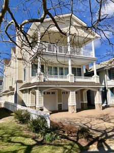 House located on beautiful tree shaded street close to the beaches & boardwalk