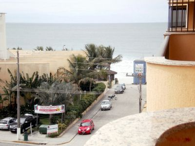 Photo for 2 bedroom apartment with air conditioning 40 meters from the beach
