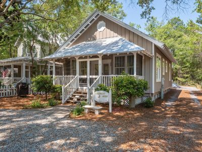 Photo for Goodnight Moon: Newly Renovated Grayton Beach Cottage - 6 Bikes Included!