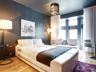 Photo for Beautiful apt in Montréal and Wifi
