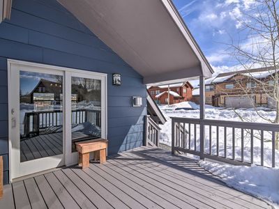 Photo for Fraser Home w/Private Deck - Views of Byer's Peak!