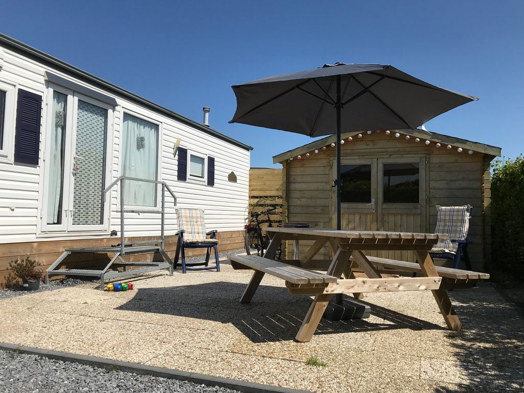 Mobile home Renesse Julianahoeve ADAC 5 star campsite. Incl. Wi Fi on star painting, star health insurance, star mobile phones, star land, star real estate, star idaho homes,