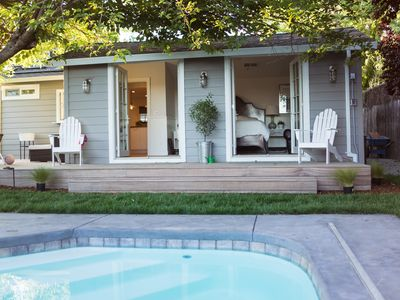 Photo for Luxury Sonoma Cottage: Sanctuary with Pool! Close to Square & Wineries