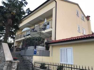 Photo for Apartment in Lovran (Opatija), capacity 2+2