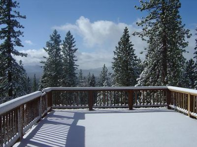 Photo for Tahoe Vacation Rental Gorgeous Views  & Pet Friendly