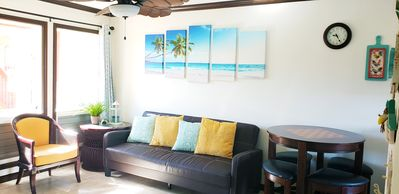 In the Heart of Kauai, Great Location, Steps from the Beach and Shops
