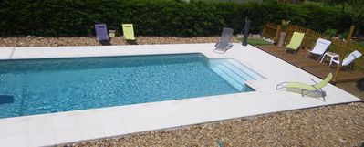 Photo for Comfortable cottage - pool