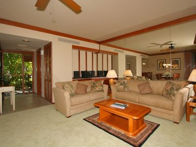 Photo for Private, Second Floor Condo Overlooking Fishpond