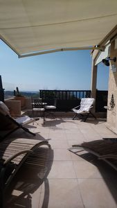 Photo for Beautiful sea view apartment on the top floor, children and pets welcome.