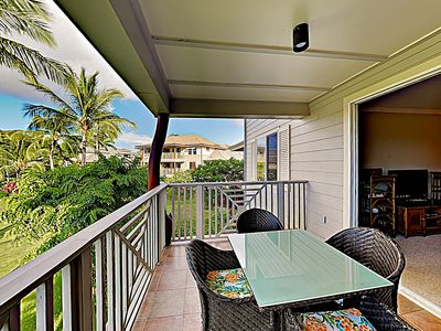 Lanai - Vacation wishes come true at this 2BR beach getaway.