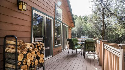 Enjoy relaxing on a private deck. Fire up the BBQ or just kick back.