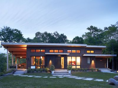 Photo for Brand new Contemporary 4-bedroom home in the forest