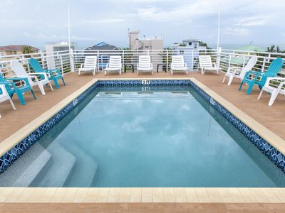 Photo for 6 Bedrooms - Sleeps 18!  Enjoy Sunsets from the Spectacular Roof Top Pool!