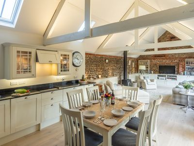Photo for A fabulous luxury, single storey barn conversion set in a peaceful village.