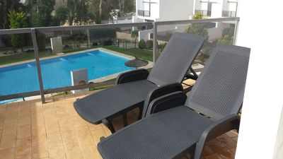 Photo for Close to beach and town with communal pool, Central air conditioning - Casa Marivi -