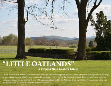 Photo for Historic 180 Acre Estate In The Hunt Country Of Loudoun County, Virginia