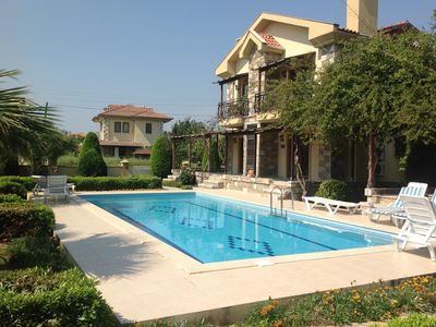 Photo for Beautiful apartment with pool/garden in fantastic Dalyan