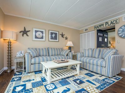 Recently updated 2 BR 2 Full Bath Le Lisa Condo in North Ocean City, just Steps to the Ocean.
