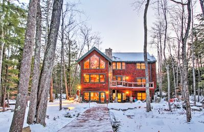 Photo for 4BR Alton House Directly on Lake Winnipesaukee!