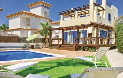 Photo for 4 bedroom accommodation in Vera Playa