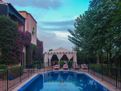 Photo for VILLA WITH POOL AREA PRIVATE MARRAKECH Garden of Olives