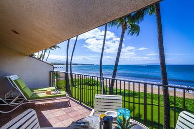 Unobstructed view of the Kihei coast and outer islands